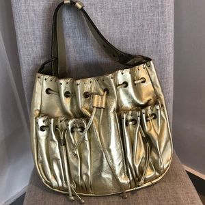 TOUS Hobo in Gold
